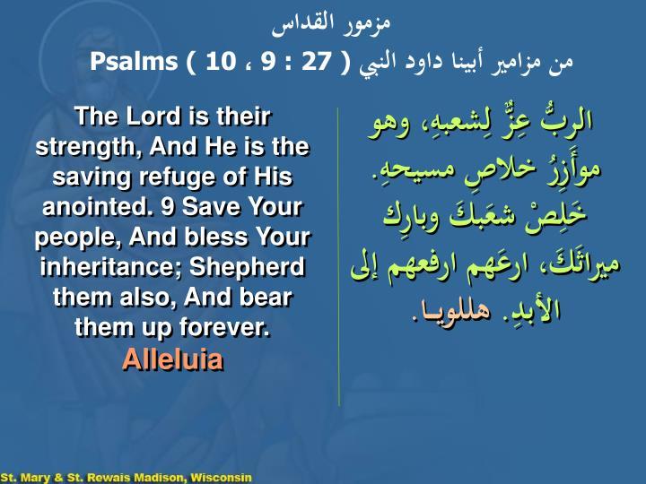 مزمور القداس