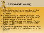 drafting and revising1