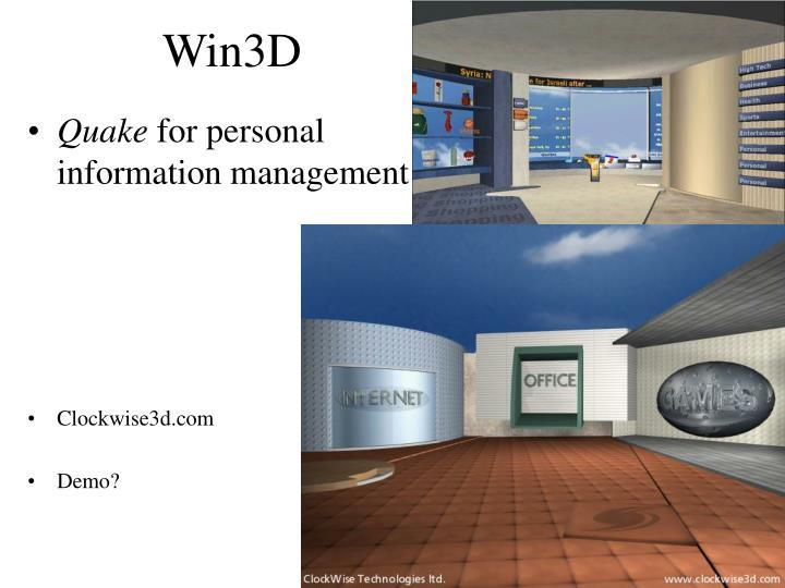 Win3D