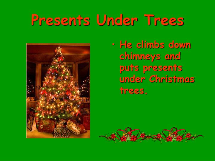 Presents Under Trees