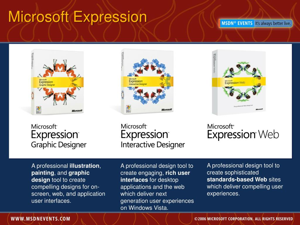 Microsoft Expression