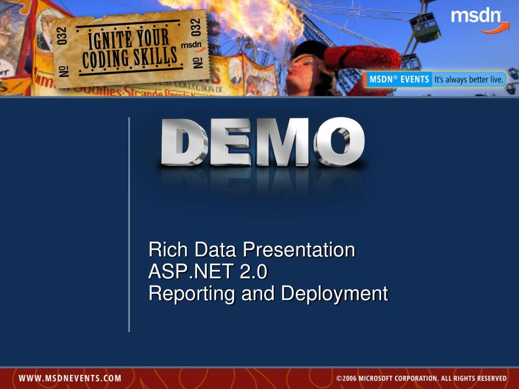 Rich Data Presentation