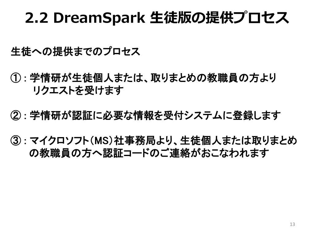 2.2 DreamSpark