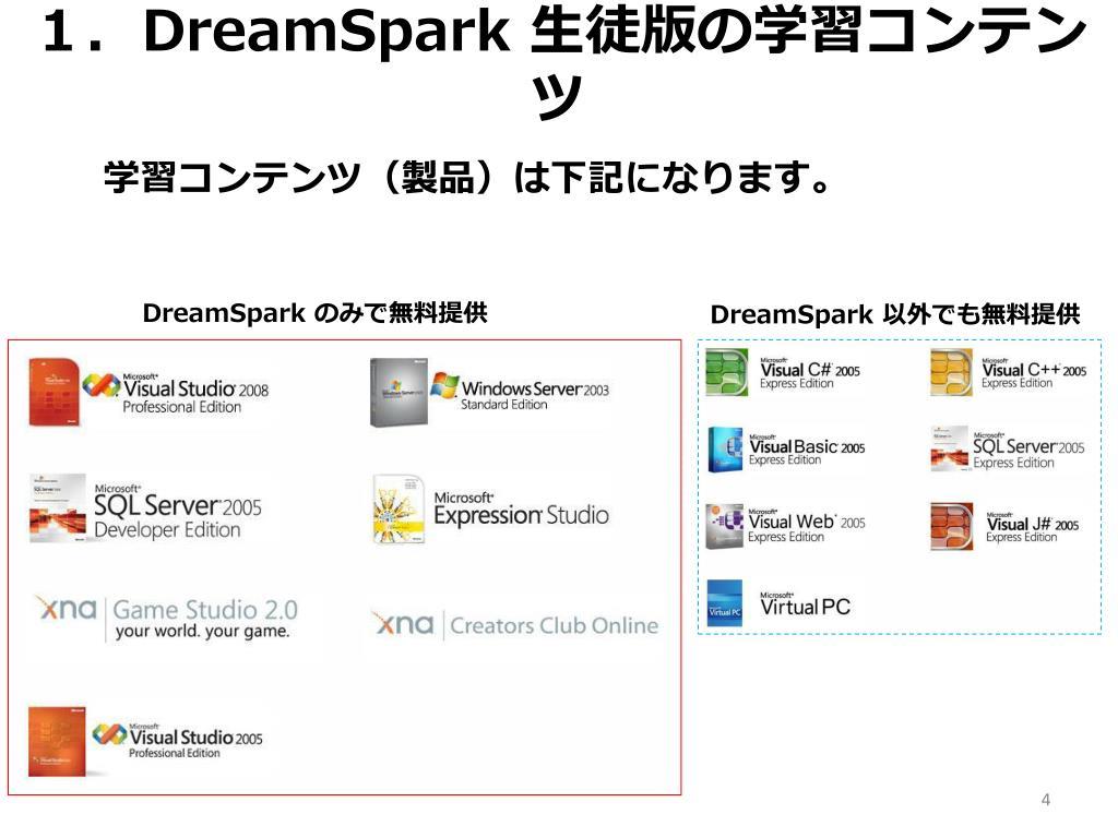 1.DreamSpark