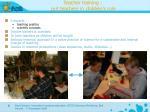 teacher training put teachers in children s role