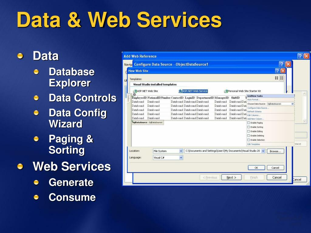 Data & Web Services