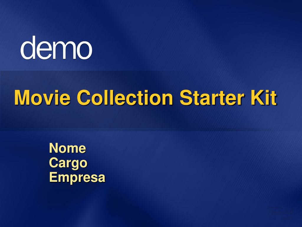 Movie Collection Starter Kit