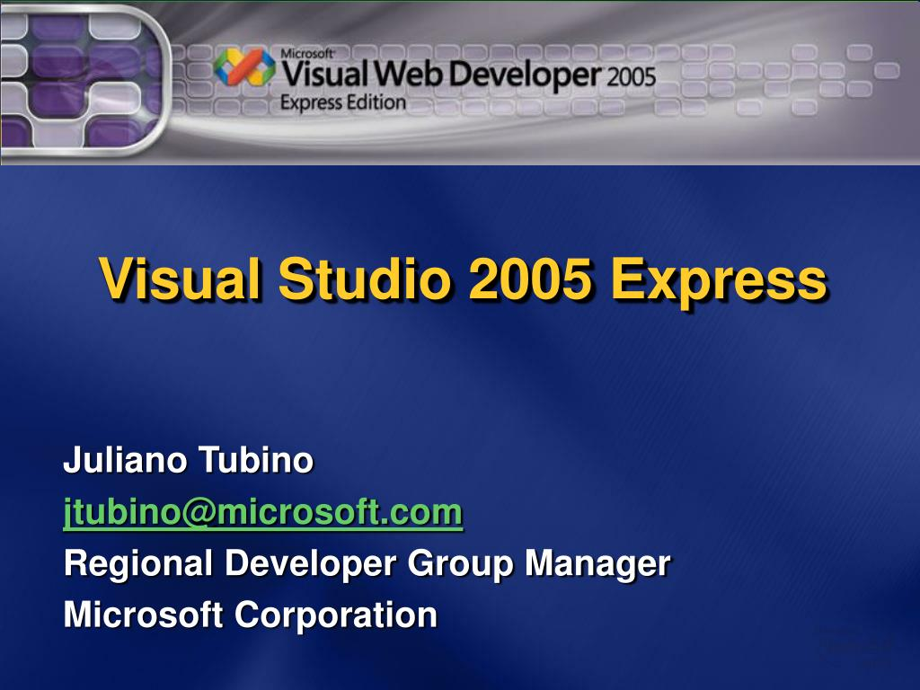 Visual Studio 2005 Express