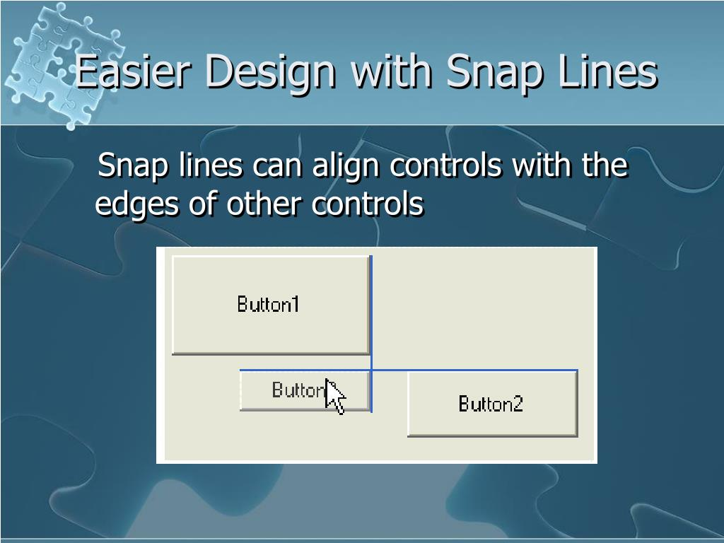 Easier Design with Snap Lines