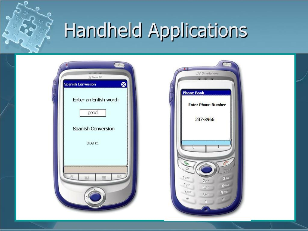Handheld Applications