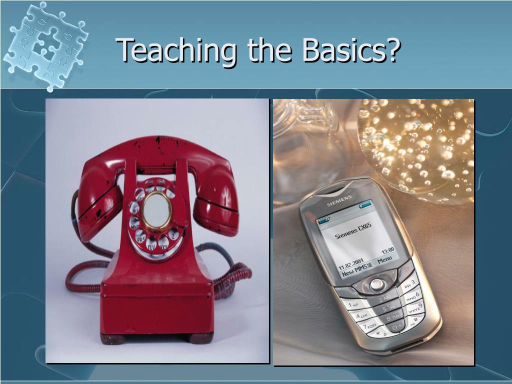 Teaching the Basics?