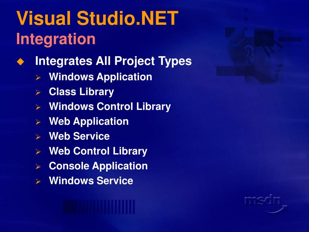 Visual Studio.NET