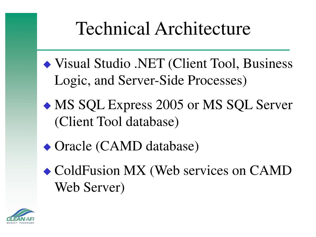 Technical Architecture