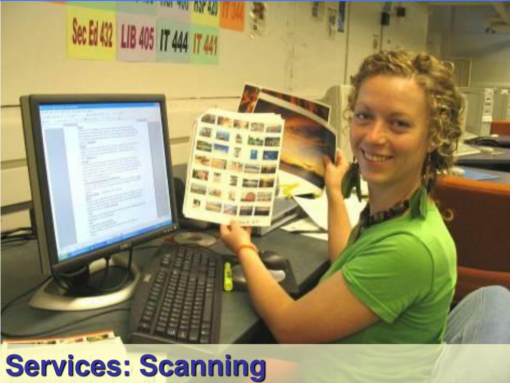 Services: Scanning