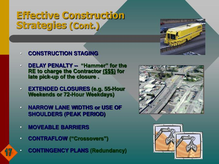 Effective Construction