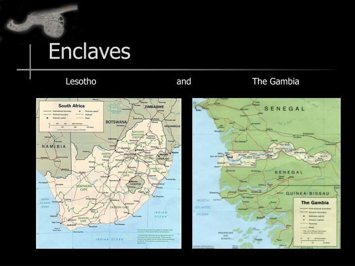 Enclaves