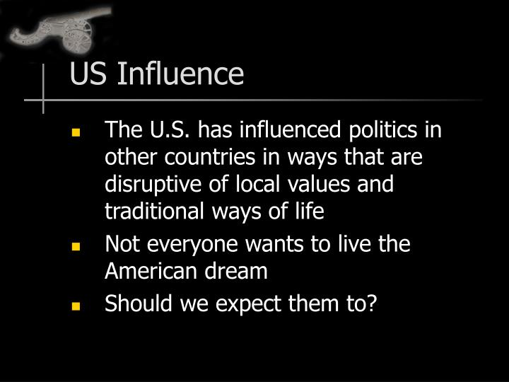 US Influence