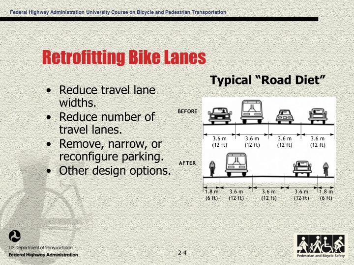 Retrofitting Bike Lanes