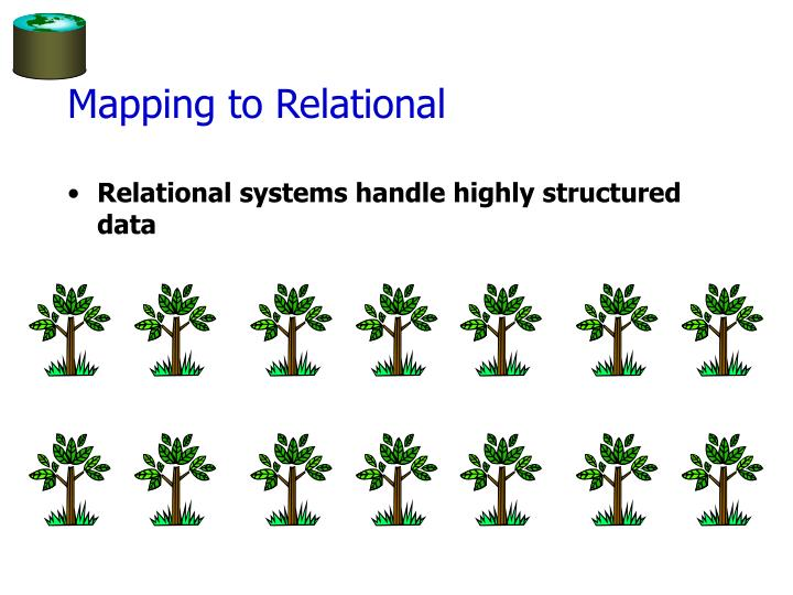 Mapping to Relational