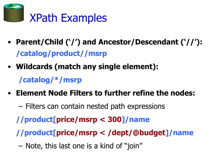 XPath Examples