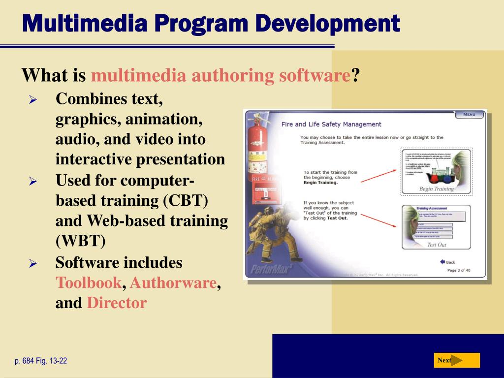 Multimedia Program Development