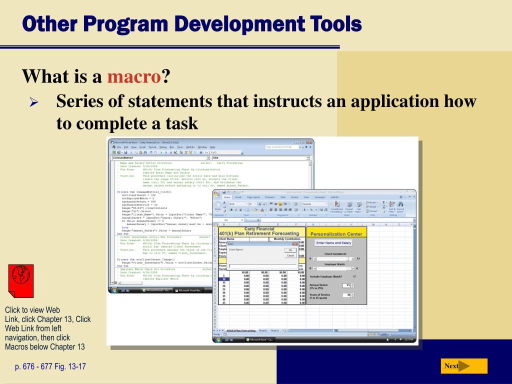 Other Program Development Tools