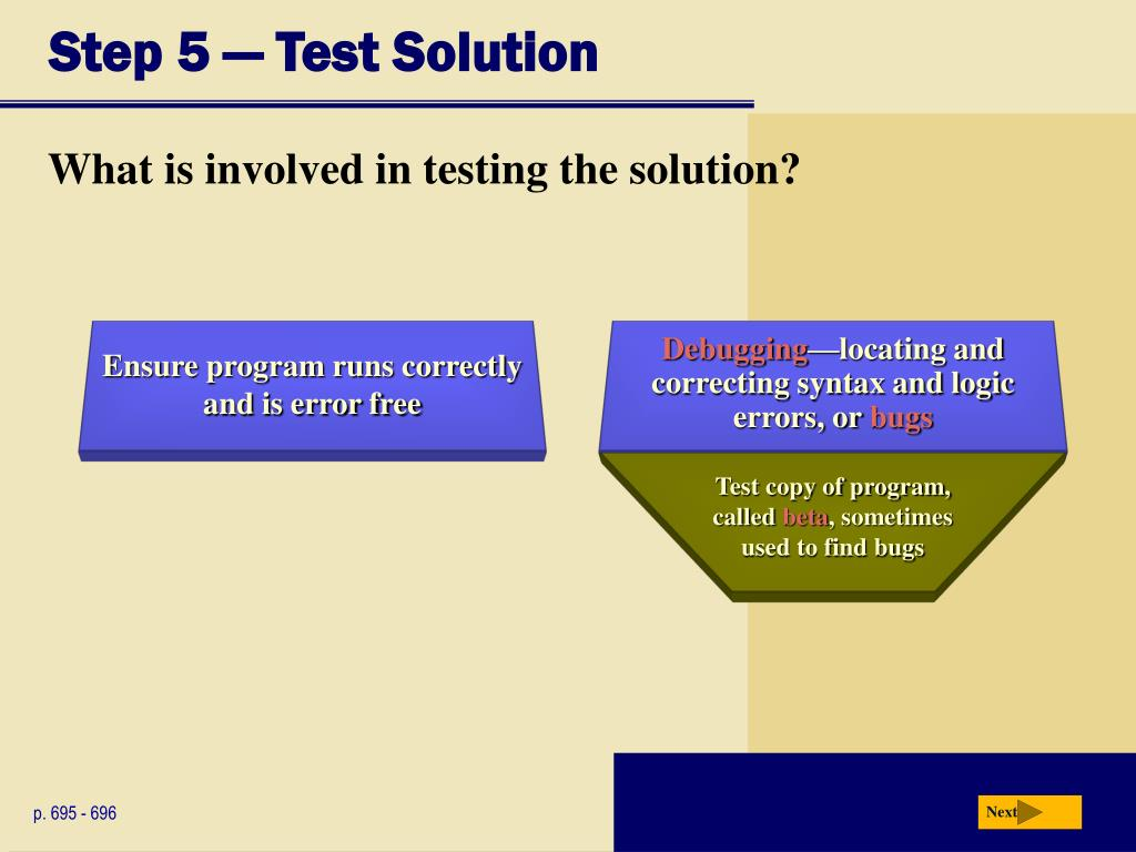 Step 5 — Test Solution