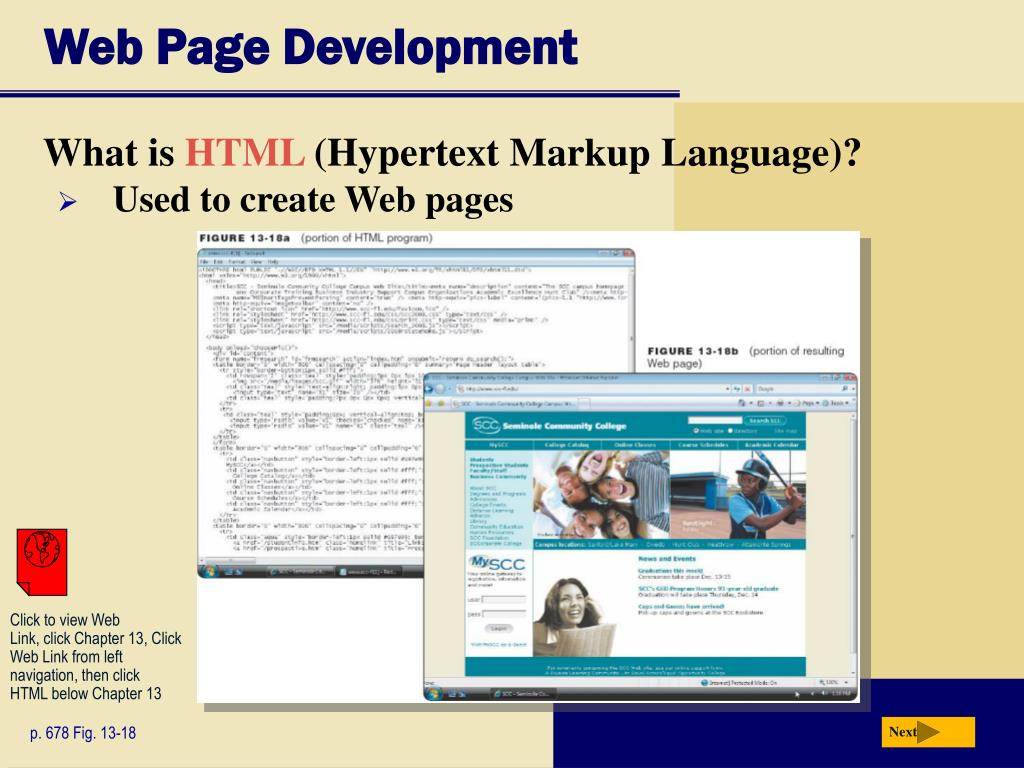 Web Page Development