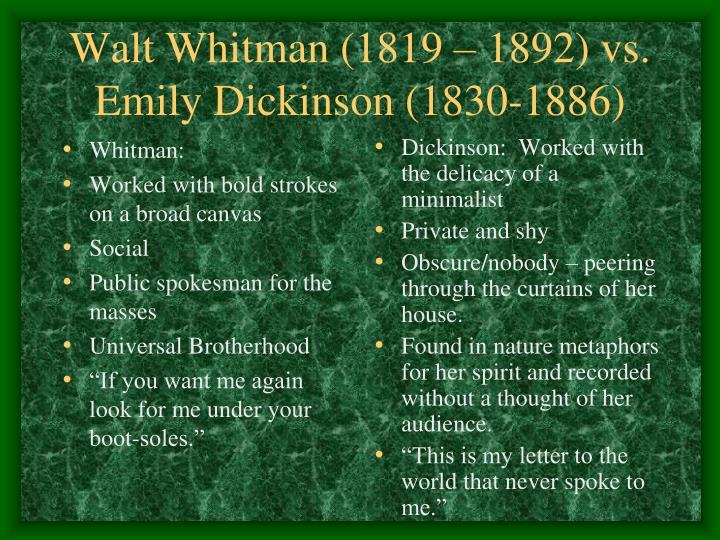Whitman: