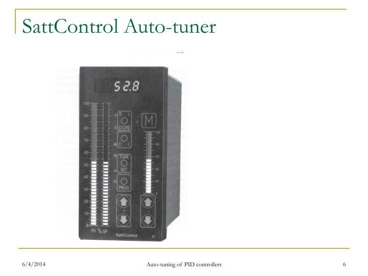 SattControl Auto-tuner