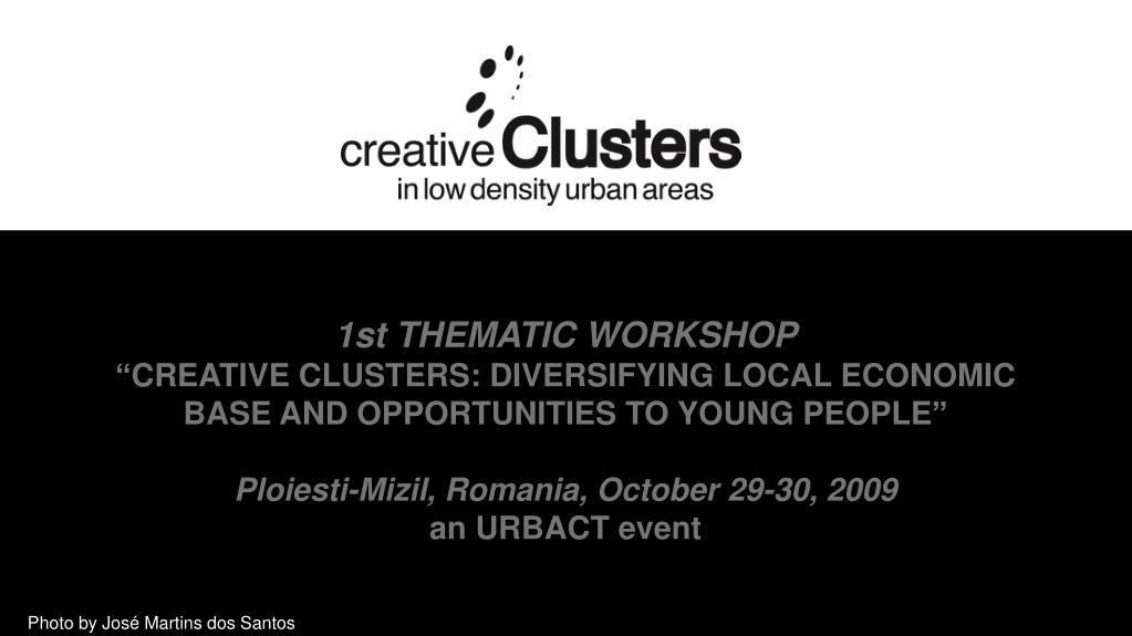 1st THEMATIC WORKSHOP