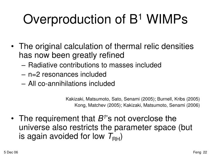 Overproduction of B