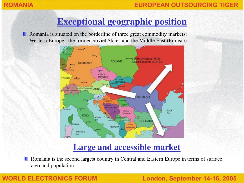 Exceptional geographic position