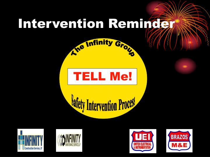 Intervention Reminder