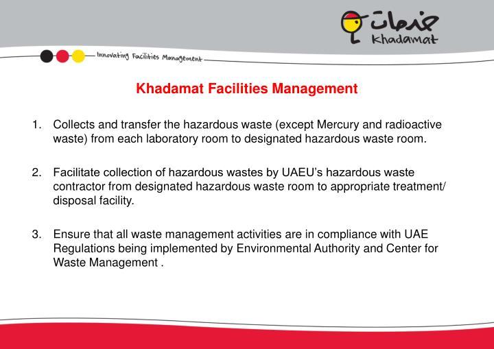 Khadamat Facilities Management