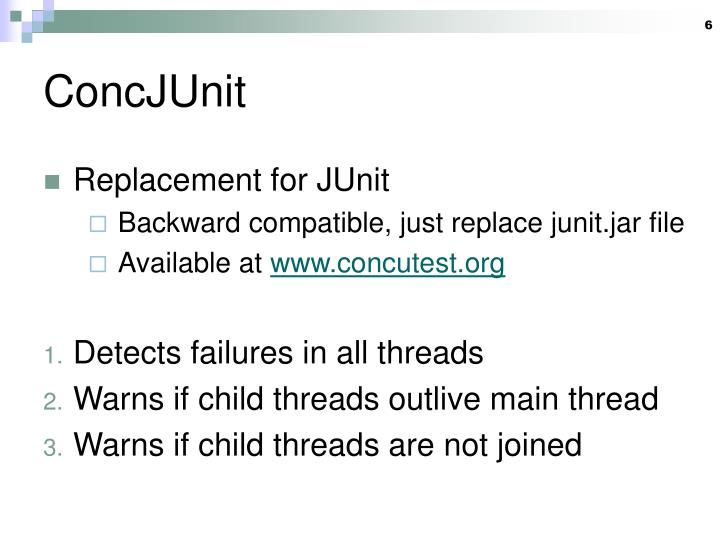 ConcJUnit