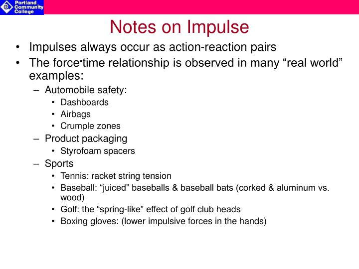 Notes on Impulse