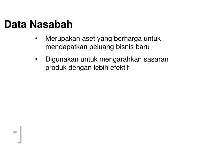 Data Nasabah