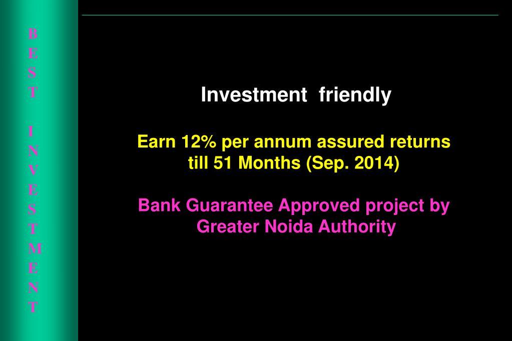 BEST INVESTMENT