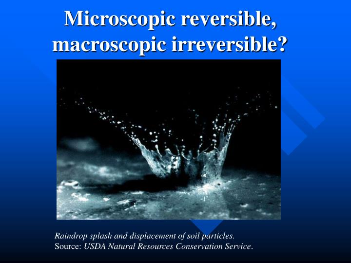 Microscopic reversible,