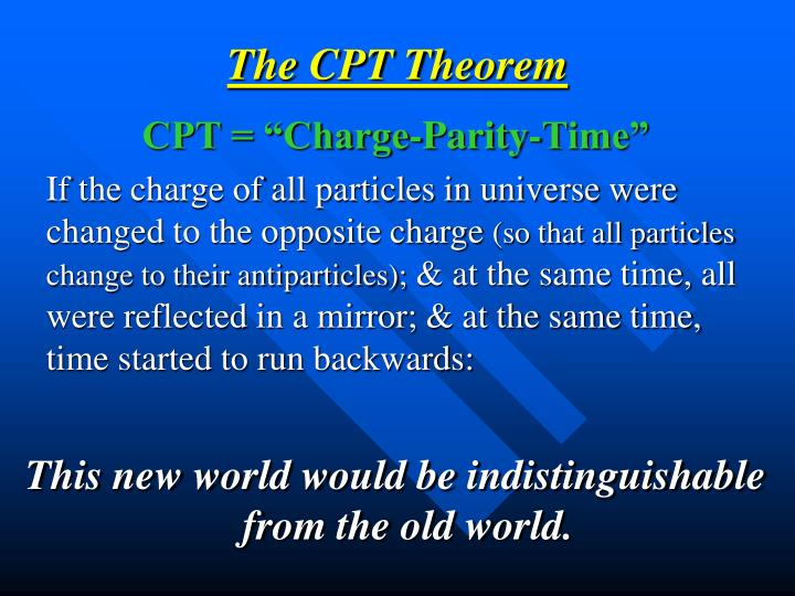 The CPT Theorem