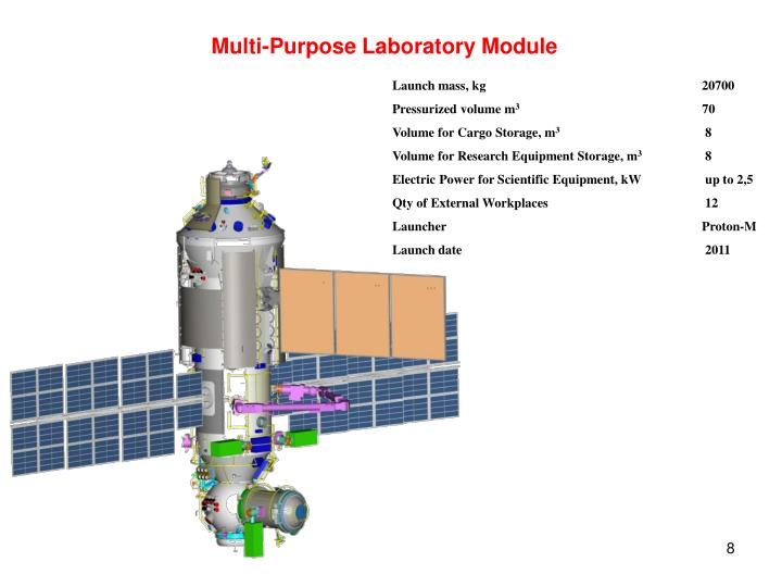 Multi-Purpose Laboratory Module