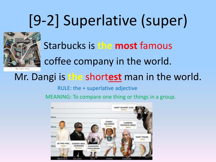 [9-2] Superlative (super)