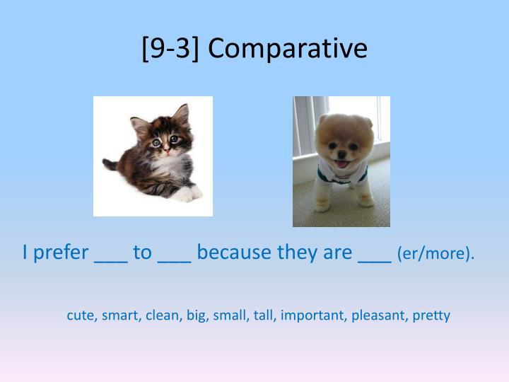 [9-3] Comparative