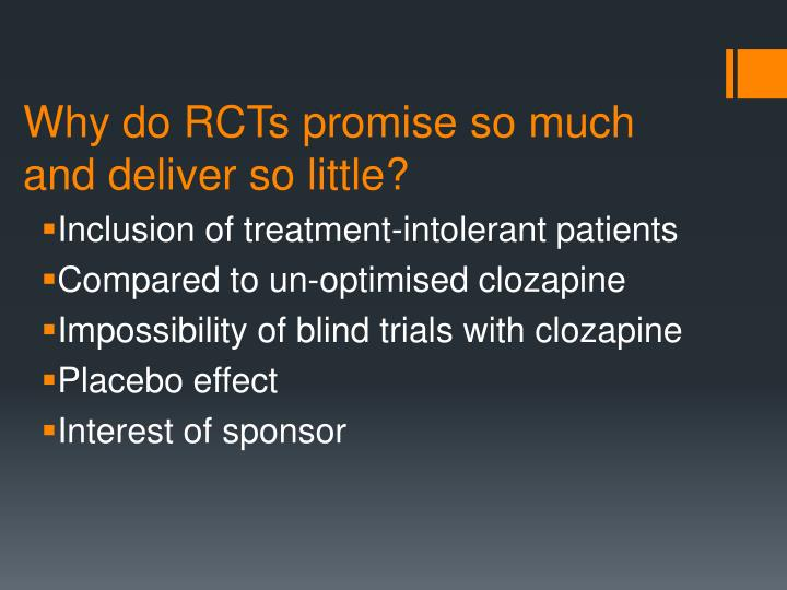 Why do RCTs promise so much and deliver so little?