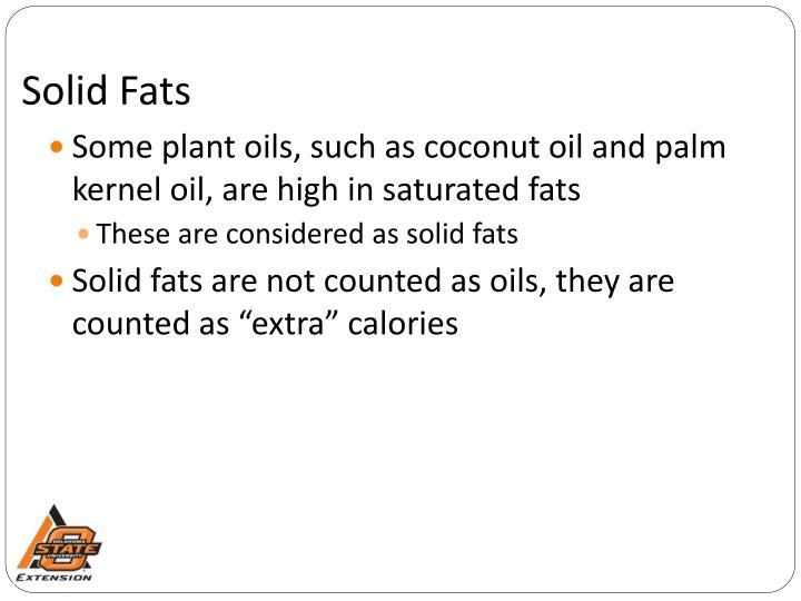 Solid Fats
