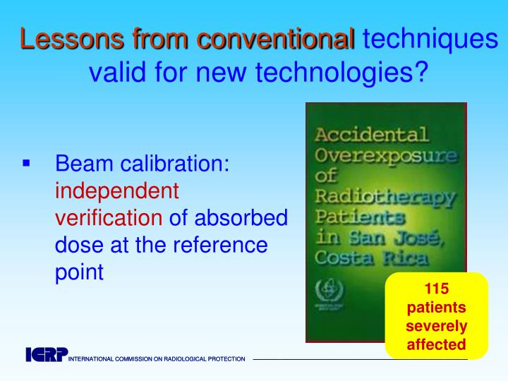 Beam calibration: