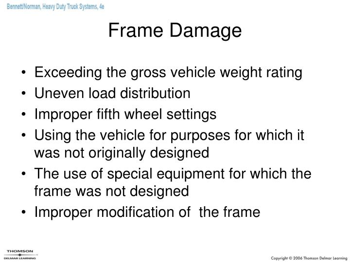 Frame Damage