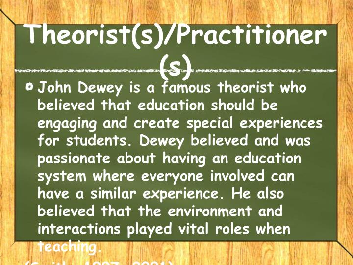 Theorist(s)/Practitioner(s)