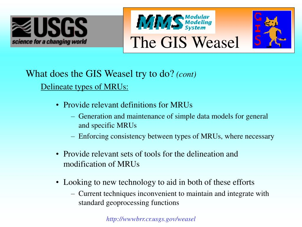 The GIS Weasel